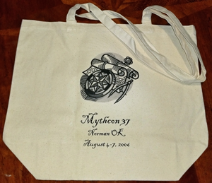 Mythcon 37 tote bag