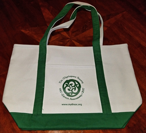 MythSoc tote bag